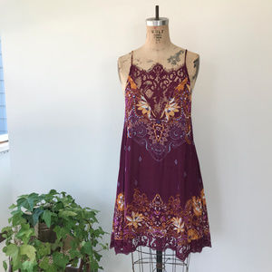 Free People Who's Sorry Now Dress